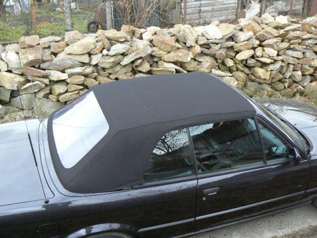BMW E30 - Střecha