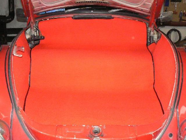 VW Brouk - Kufr