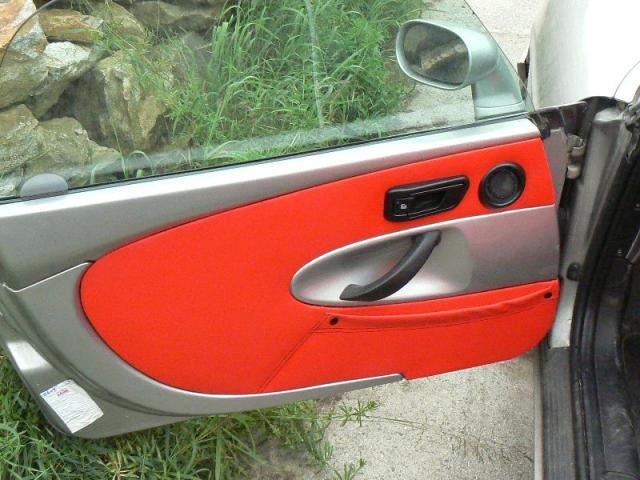 Fiat Barchetta - kožený interier