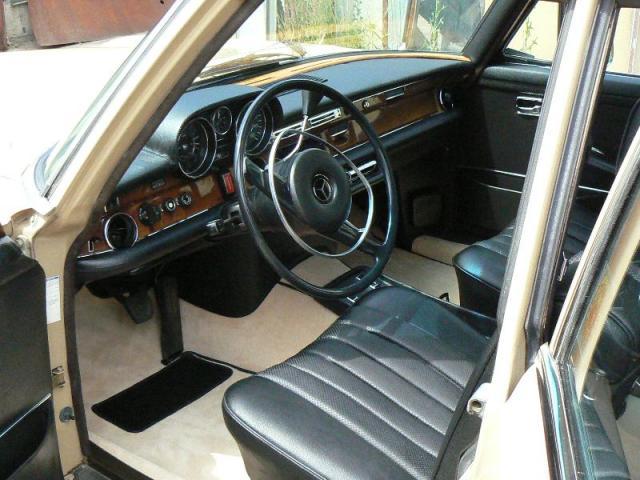 Mercedes - interier kůže