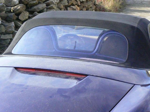 Výměna okna - Porsche Boxter
