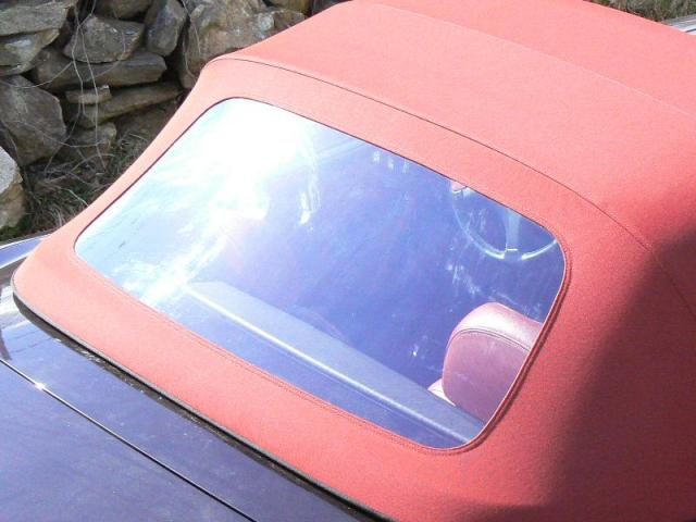 Fiat Barchetta - Střecha