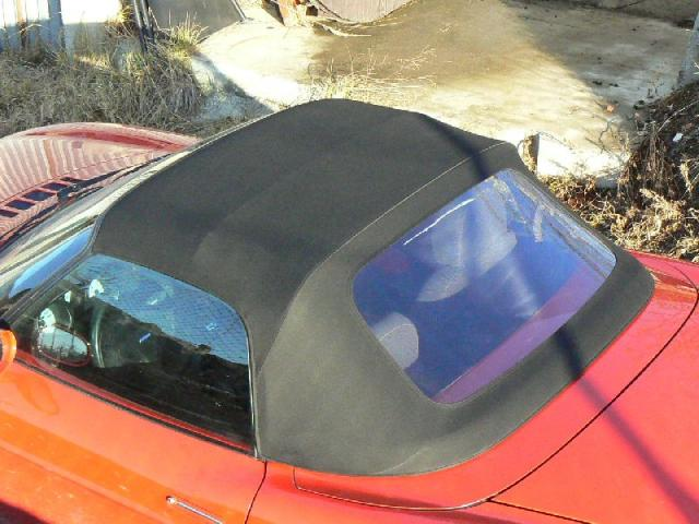 Fiat Barcheta - Střecha
