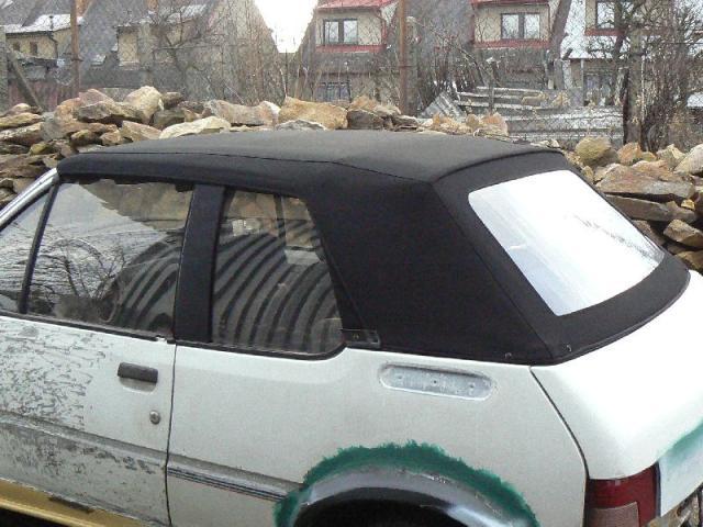 Peugeot 205 - Střecha