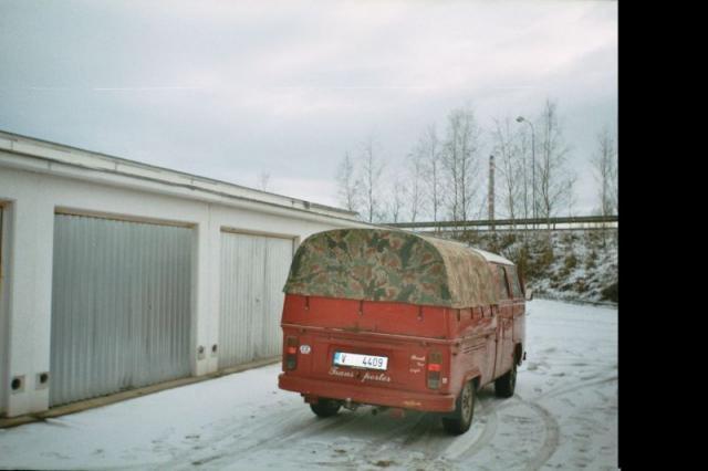 VW Transporter - plachta